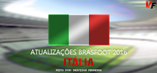 Atualização Patch da Itália - Agosto - Brasfoot 2016
