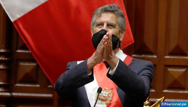 Francisco Sagasti president of peruvian
