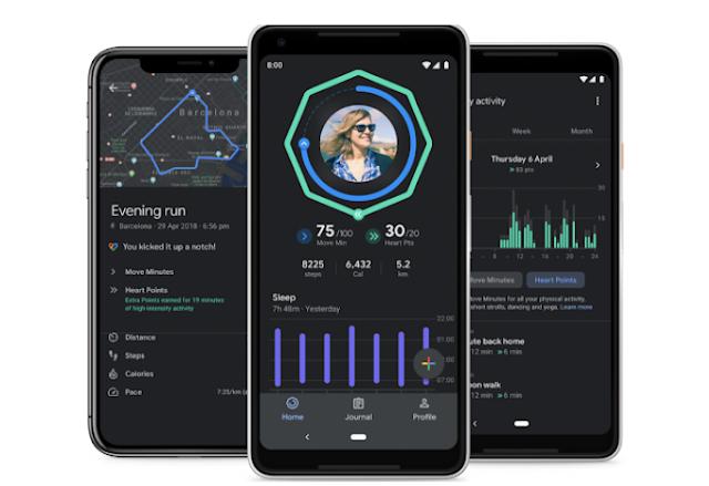 تضيف جوجل مخططات إلى ميزة تتبع النوم في Fit