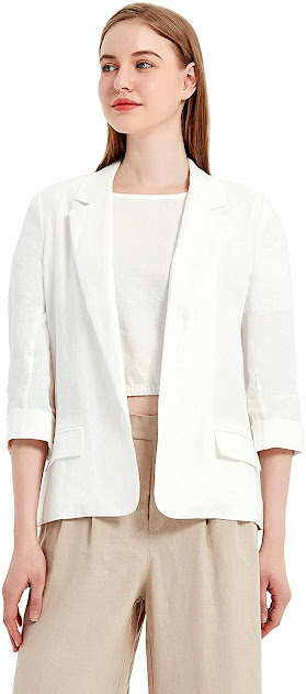 Elegant White Blazers For Women