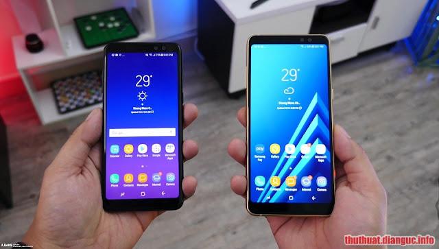 Hướng dẫn xoá xác minh tài khoản Google (bypass FRP) cho Samsung A8 (2018) và A8+ (2018)