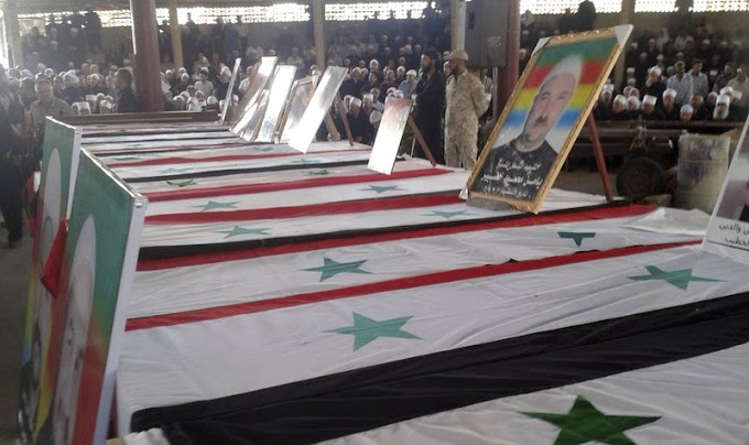 Mass funerals held in southern Syria day after IS attacks
