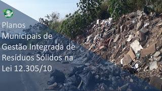 Planos Municipais de gestão integrada de Resíduos Sólidos