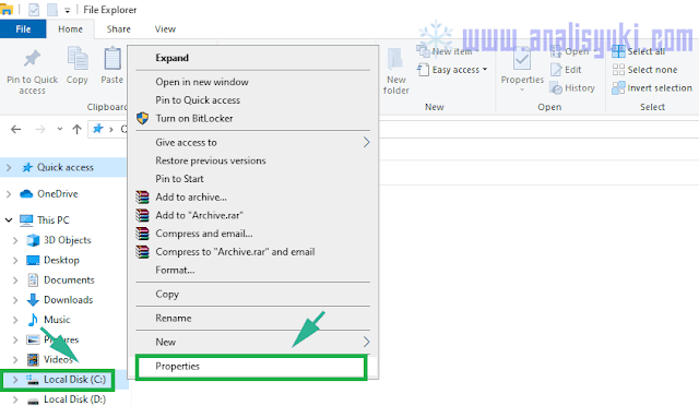 Cara Menghapus Folder Windows Old pada windows 7, 8 dan 10