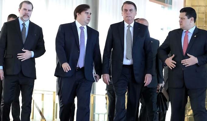 Presidentes dos três poderes vão assinar pacto por reformas