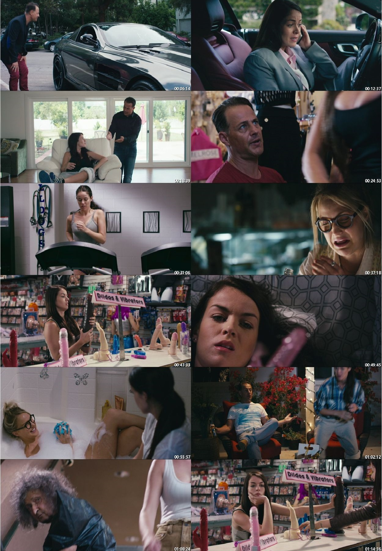 Screen Shot Of The Sex Trip 2017 Full Movie Download Free Watch Online 300MB