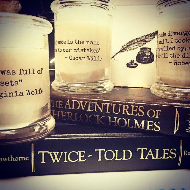 wordsmith candles