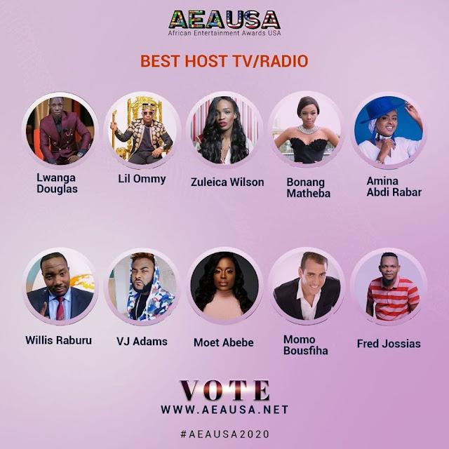 Fred Jossias na lista dos melhores apresentadores de África