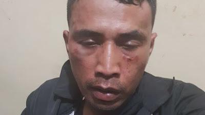 Viral : perampokan di Indomaret, Jalan Sisingamangaraja, Medan, oknum polisi
