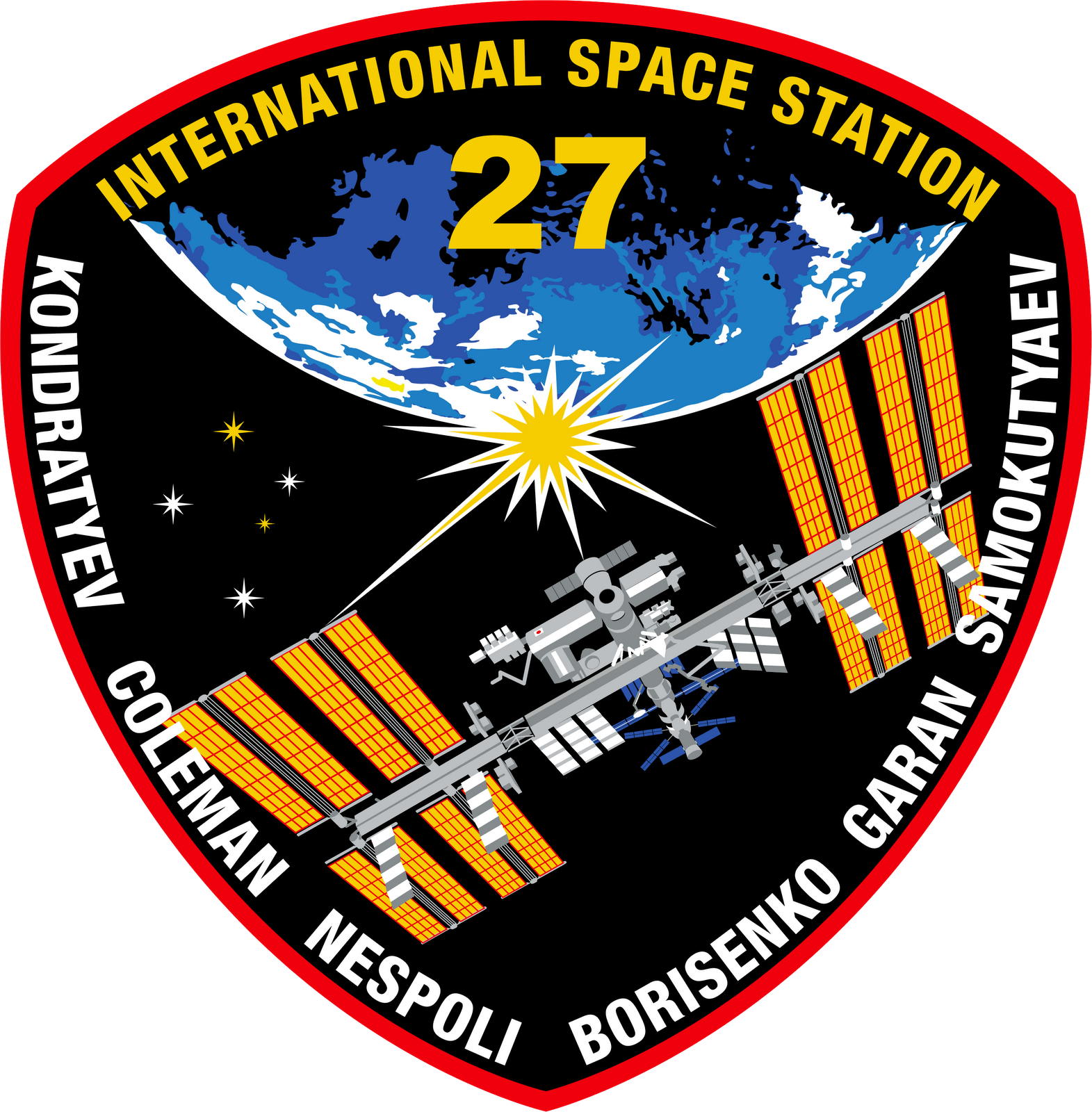 Mission Patches On Mission 4 To The International Space: Orbiter.ch Space News: Expedition 27 Crew Undocks From Station