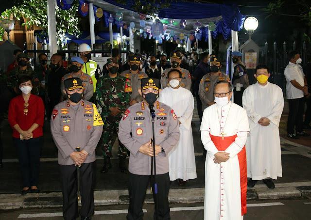Listyo Sigit Prabowo Pastikan Pelaksanaan Ibadah Minggu Paskah Aman