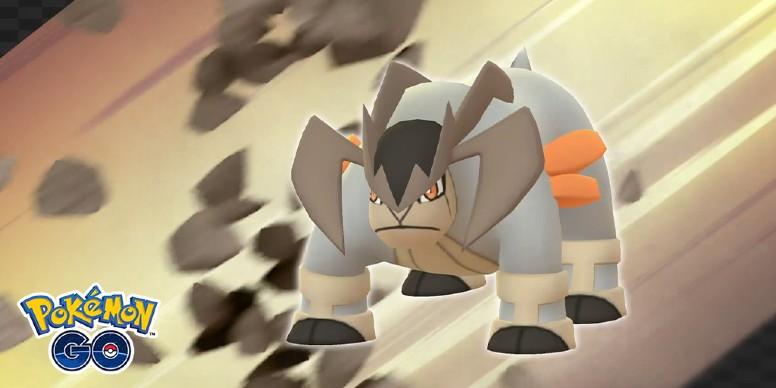 Terrakion Batalha de Reide Pokémon GO