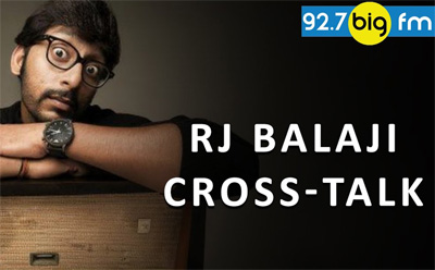 RJ Balaji Non Stop prank in Cross talk with peoples || Cross talk Balaji Take it Easy 2016