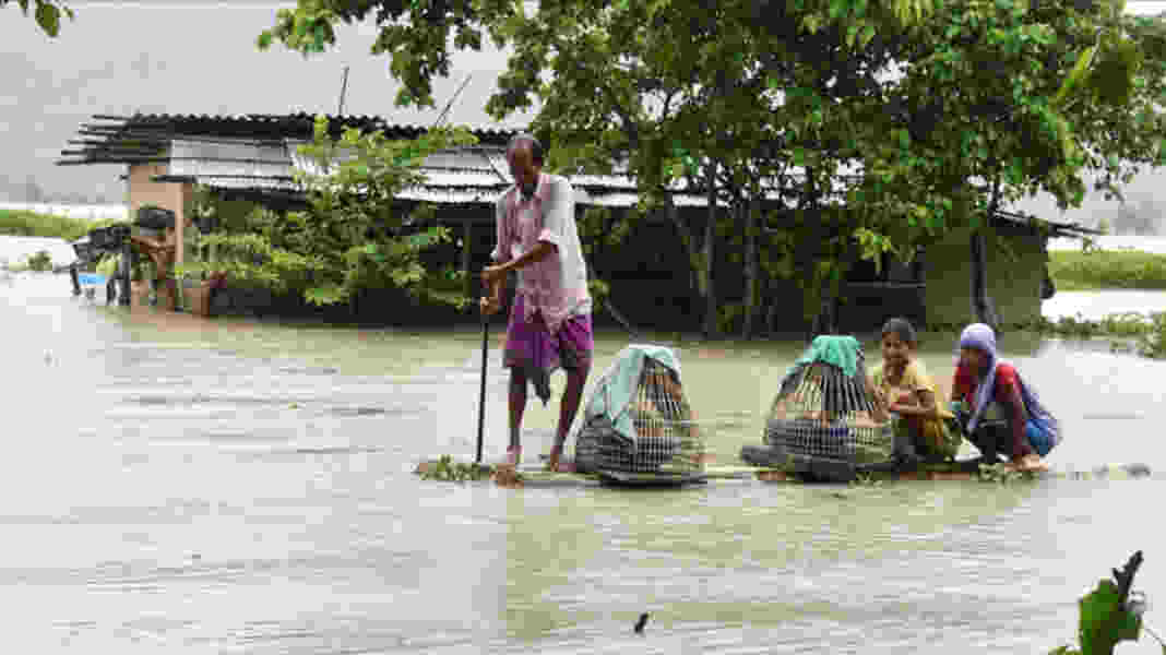 Assam Floods hit 2.25 lakh people in 219 villages and 9 districts