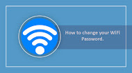How to change your WiFi Password.