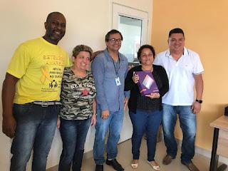 Agentes de saúde de Sete Barras recebem tablets