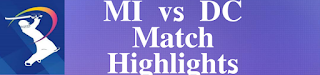 Final: MI vs DC – Match Highlights