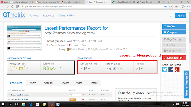 review template seo frendly  terbaik di nextwaplog