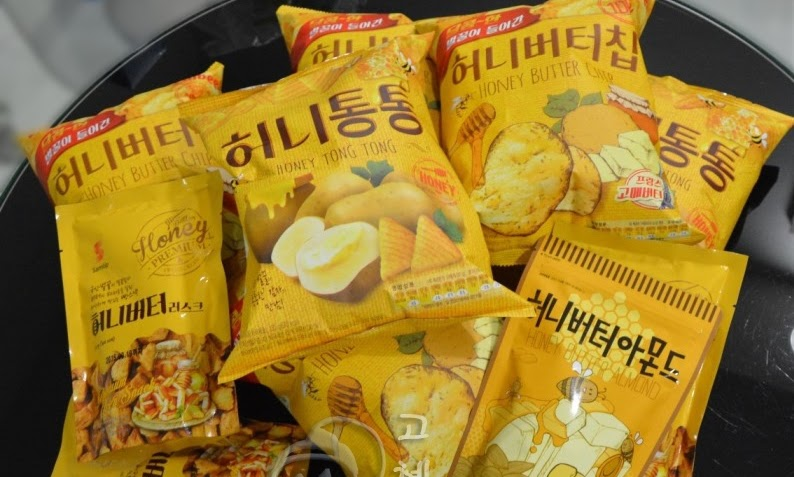 Korea's Honey Snacks which ruled their social media?