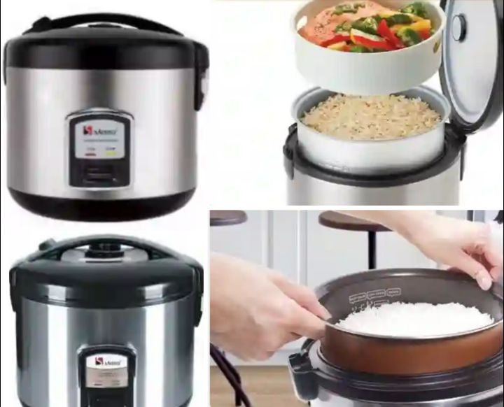 Saisho S-406 Rice Cooker: Portable Kitchen Countertop Cooking Appliance
