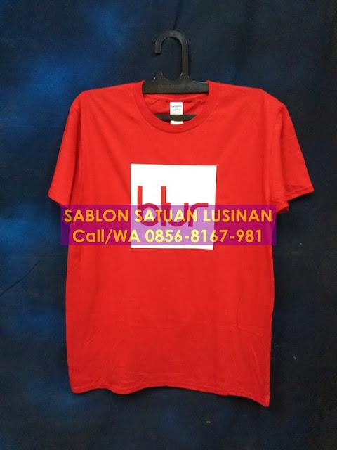 Sablon Satuan Jakarta Sablon Polyflex