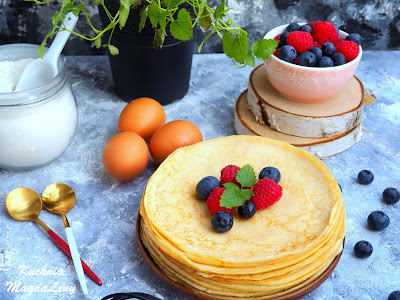 Idealne ciasto naleśnikowe