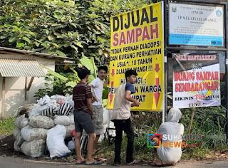 Baliho terkait sampah