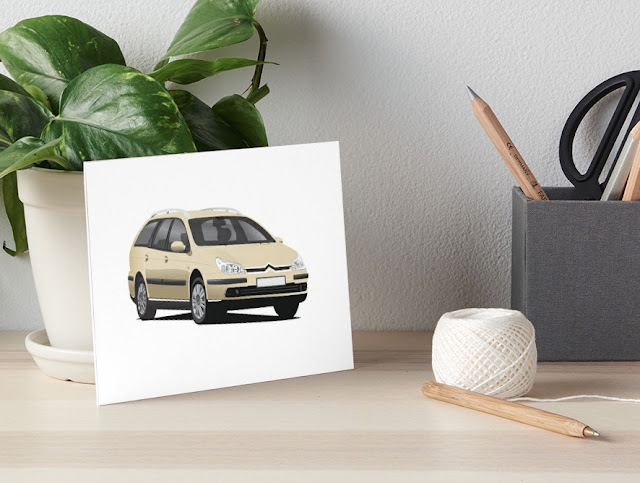 Citroën C5 Break decor redbubble