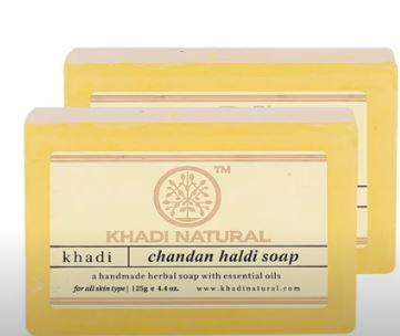 Khadi Haldi Chandan Soap