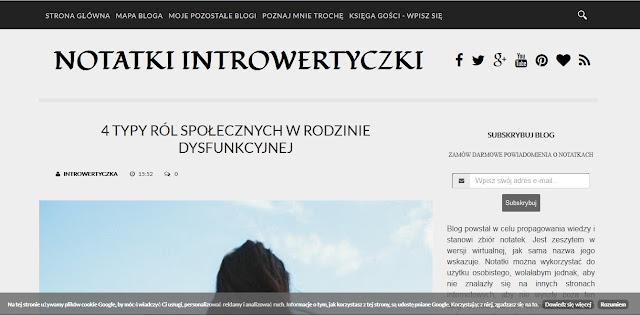 CSS - Opacity na blogu