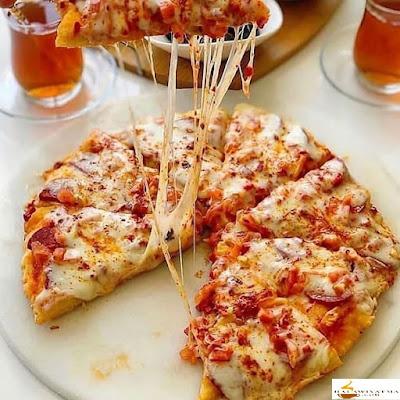 بيتزا المقلاة