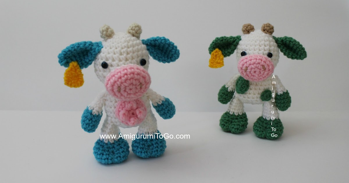 Temple The Little Cow Amigurumi To Go