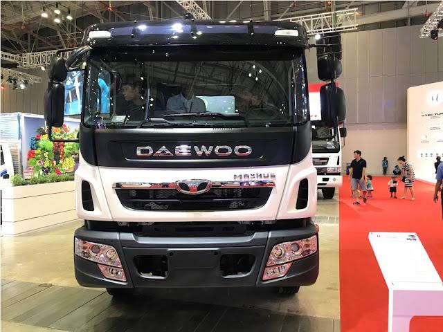 Xe tải 9 tấn Daewoo prima