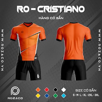 Áo Không Logo Rozaco RO-CRISTIANO Màu Cam