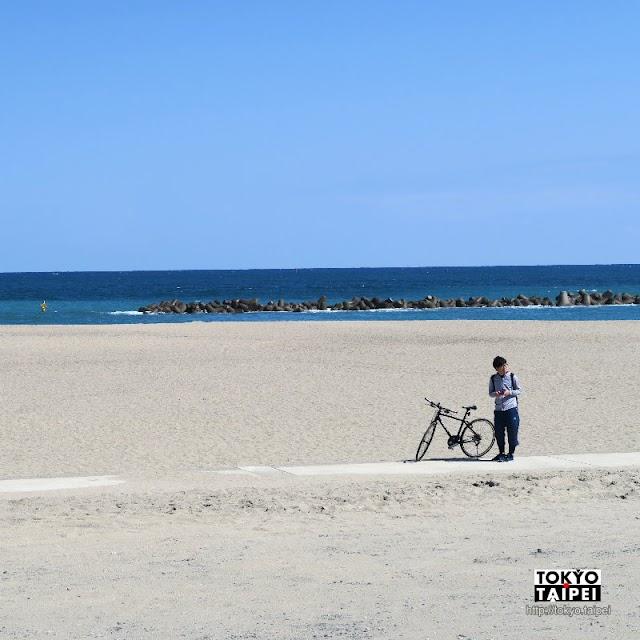 【阿字浦海水浴場】1.2公里細沙搭配美麗海景 茨城最受歡迎的海水浴場