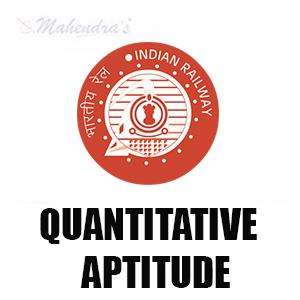 Quantitative Aptitude Questions For Railway Exams : 18 - 03 - 18