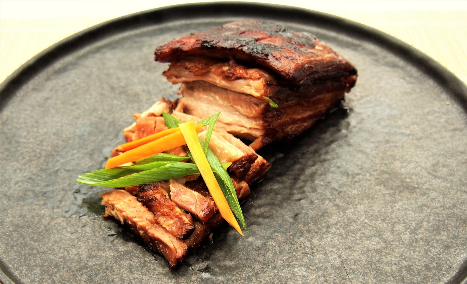 Slow cooked Char Siu style pork belly - Kitchen Exile