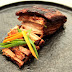 Slow cooked Char Siu style pork belly
