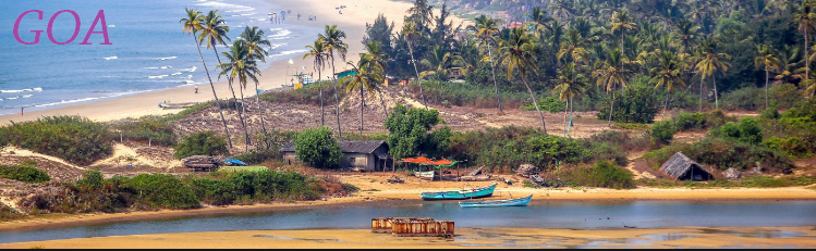 Goa, Most popular tourist destination for a honeymoon.