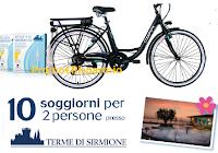 Logo Acqua di Sirmione ''Concorso Respira la primavera e vinci 2020'': in palio bici elettriche e soggiorni alle Terme