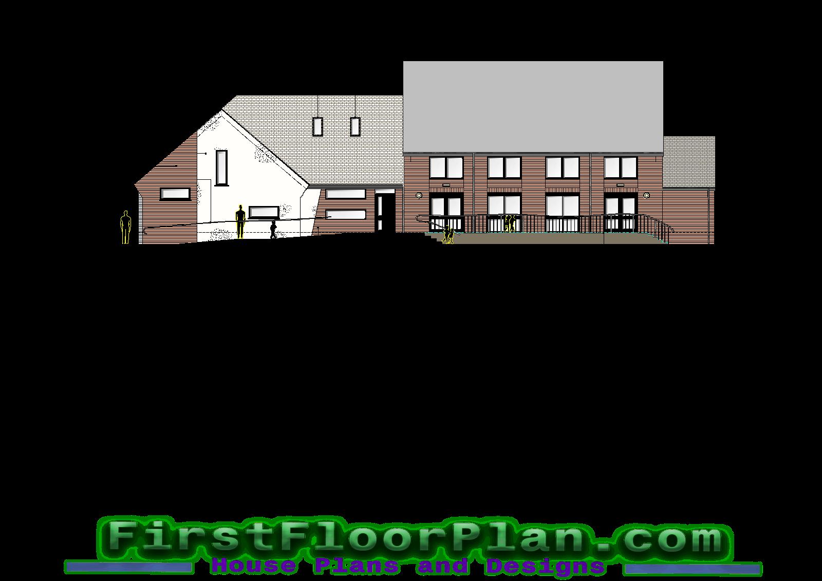 Architecture Design of House AutoCAD File