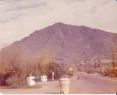 Camelback Mountain - 56th Street - 1970's - Phoenix, Arizona