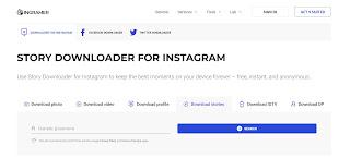 cara melihat story instagram melalui ingramer