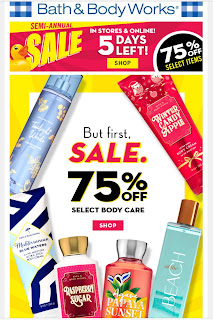 Bath & Body Works | Today's Email - January 15, 2020