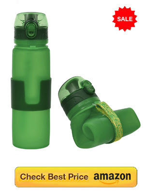 Foldable Rubber Water Bottle