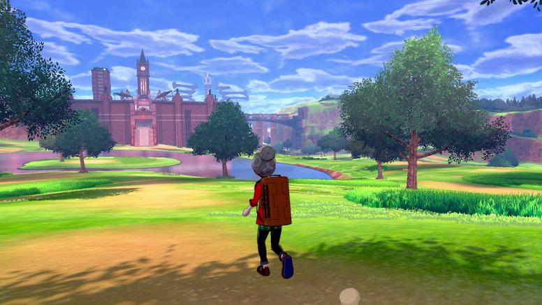 Pokémon Sword e Shield Wild Area