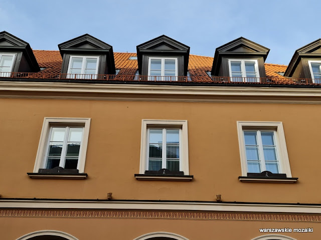 Warszawa Warsaw Nowe Miasto architektura architecture zabytek okna
