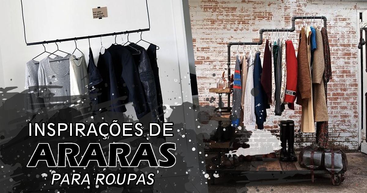 araras de roupas onde comprar