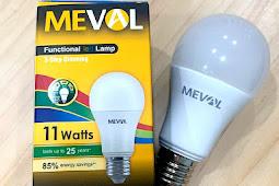Dengan LED Meval, Pencahayaan Rumah Dapat Diredupkan