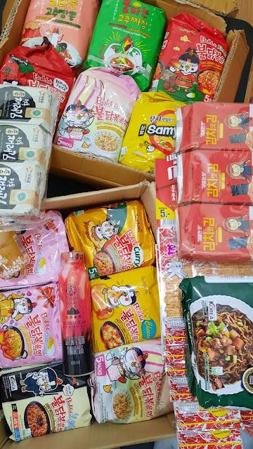 Samyang Instant Noodles